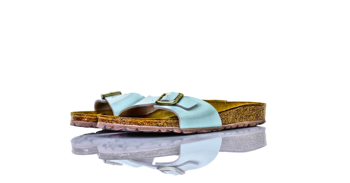 Birkenstock Madrid Two Tone Water Cream Lack