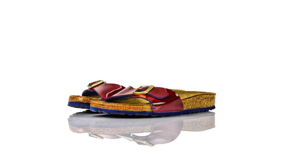 Birkenstock Madrid Violett Lack Nellas Schuhparadies