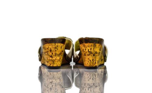 Vintage Arfilli Keil Pantoletten Nellas Schuhparadies
