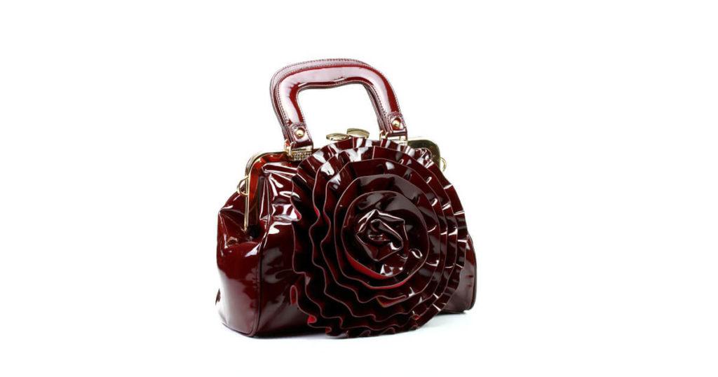 Tasche Rose Lack