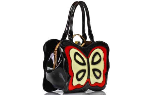 Tasche Schmetterling Lack