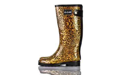 Gummistiefel Leoparden BSM