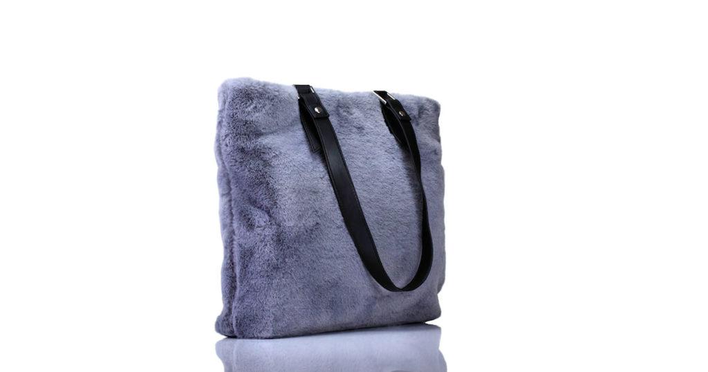 Handtasche Grau Flauschi Deichmann