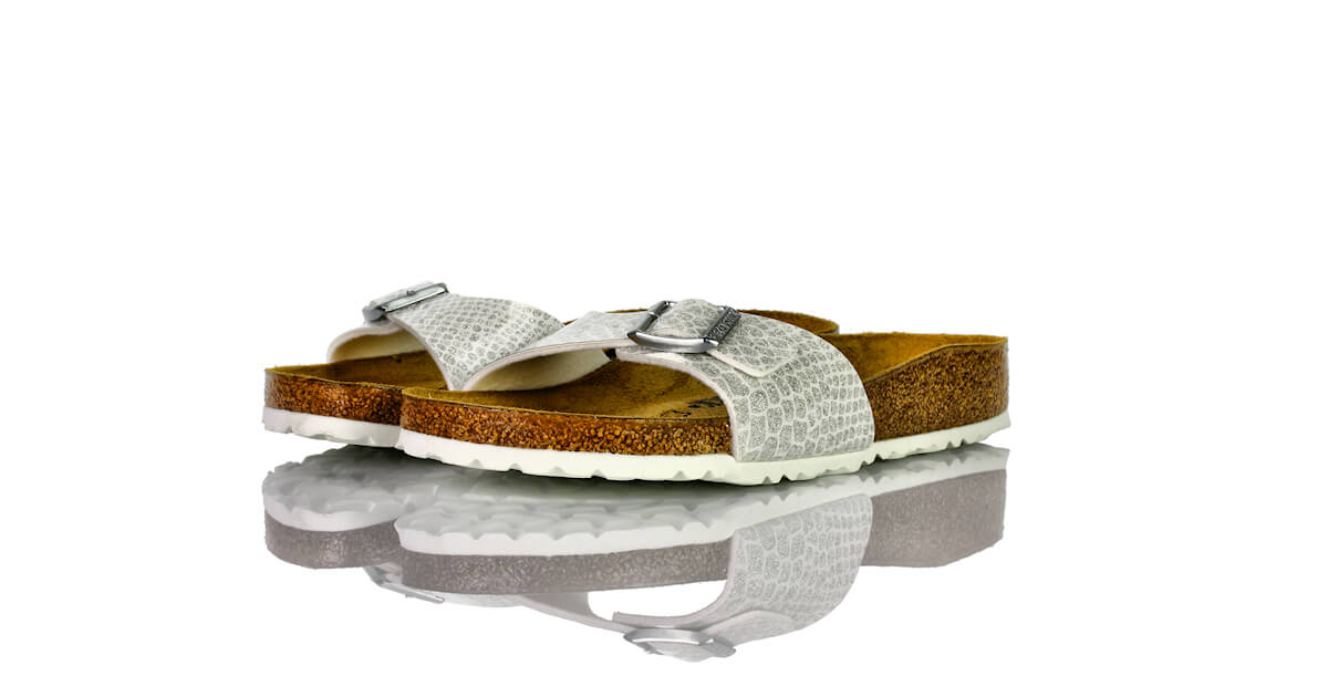 Birkenstock Madrid Magic Snake White Lack