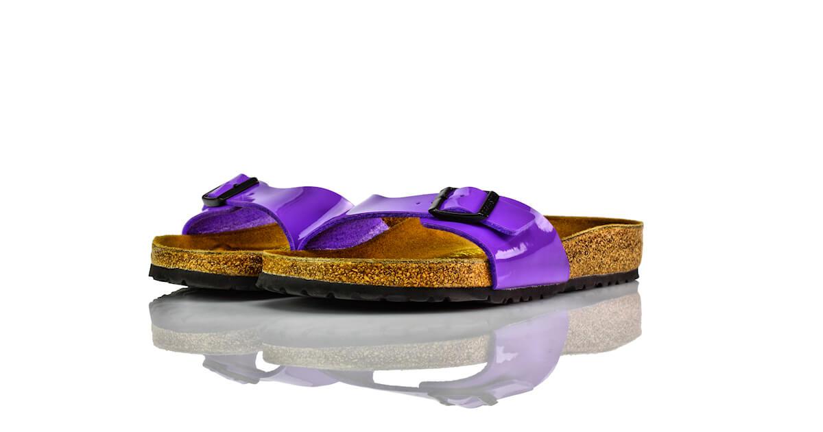 Birkenstock Madrid Violett Lack