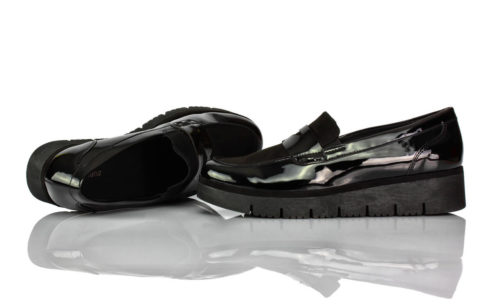 Loafer Schwarz Lack Graceland