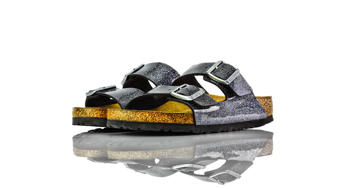 Birkenstock Arizona Cosmic Sparkle Anthracite