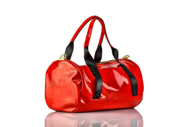 Tasche Rot Lack Kendall + Kylie