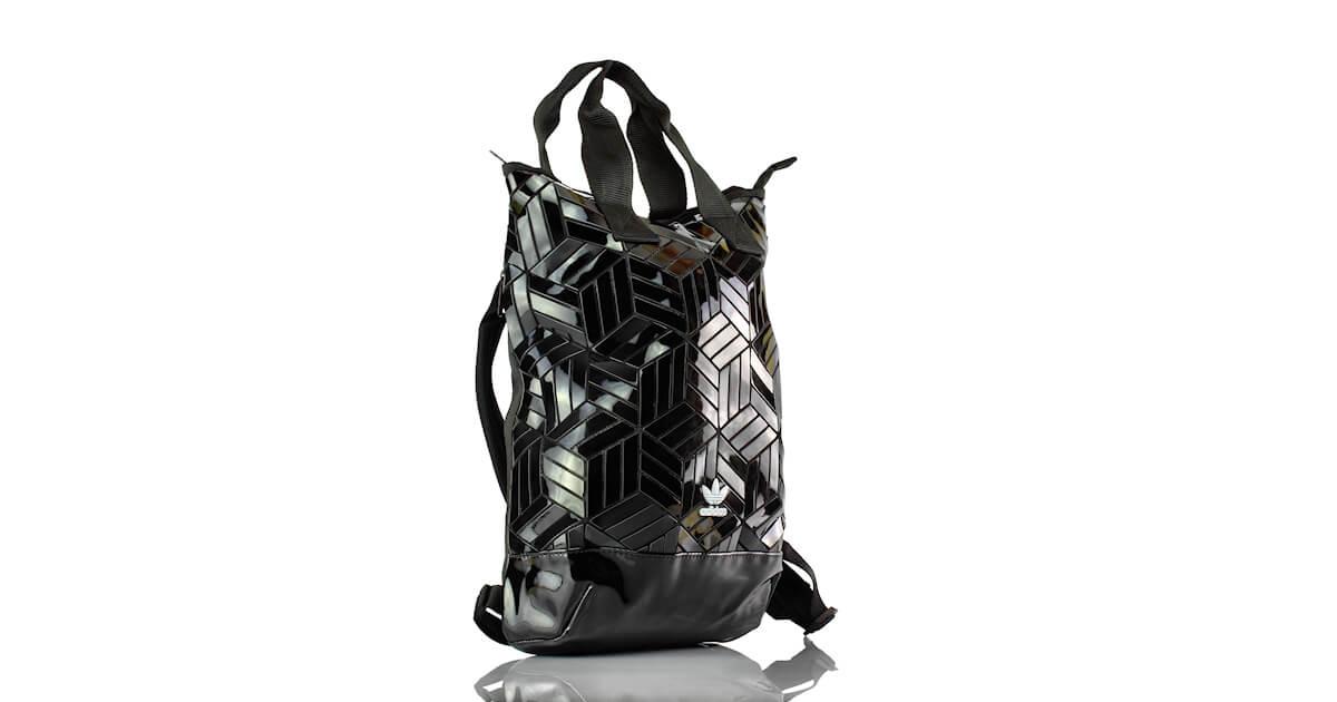 Tasche - Rucksack Adidas Schwarz Lack