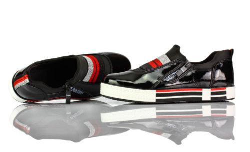 Sneakers Schwarz Lack Evolutions