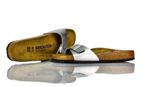 Birkenstock Madrid Silber
