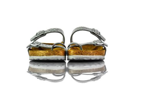 Birkenstock Mayari Magic Snake Silver