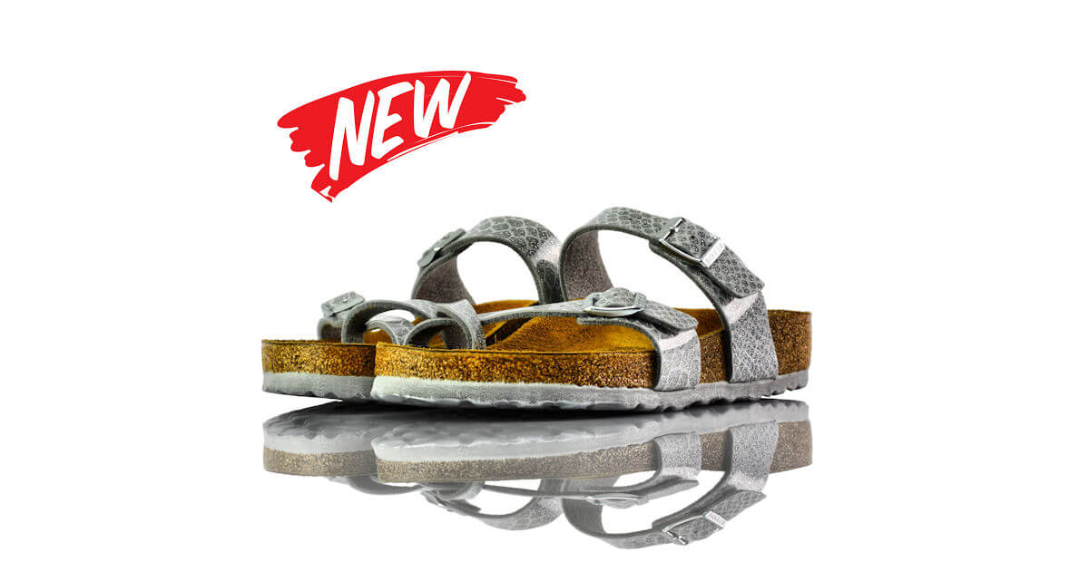 Birkenstock Mayari Magic Snake Silver
