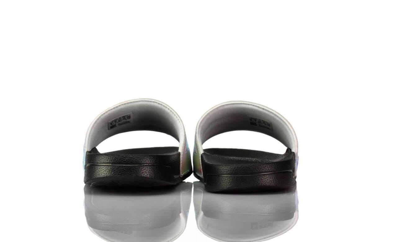 Badeschuhe Adidas Adiletten Spiegelglanz