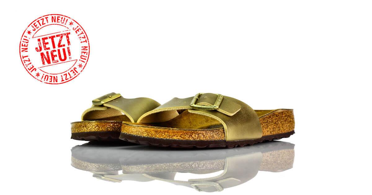Birkenstock Madrid Gold